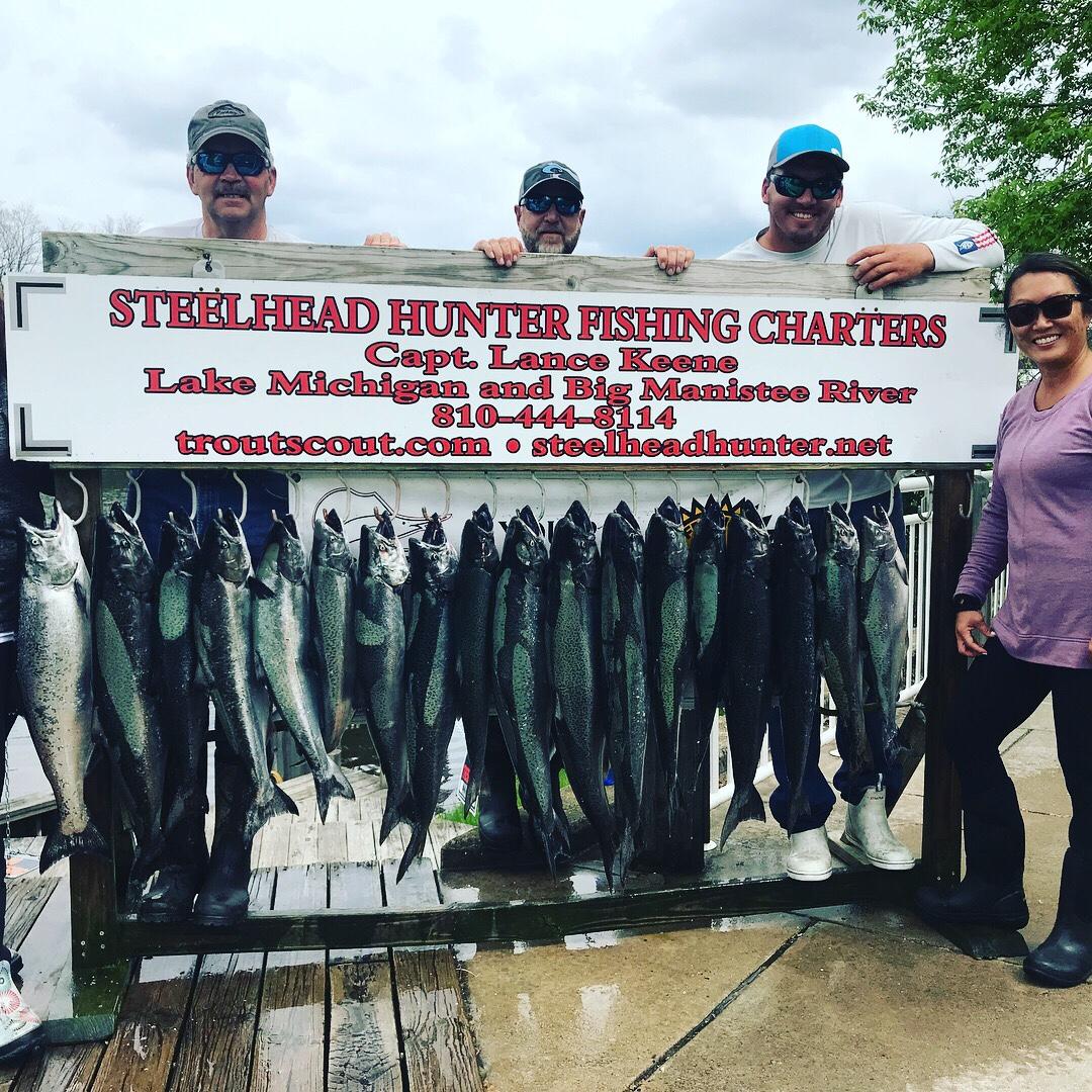 Steelhead Hunter Guide Service   Fishing Charters on Lake